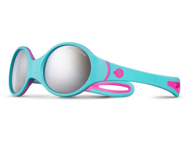 Julbo Loop Spectron 4 Zonnebril 2-4Y Kinderen, turquoise/roze